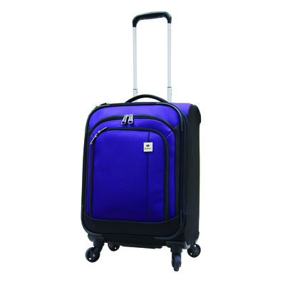 Samboro Feather Lite Luggage 19 inches Exp. Carry-on Spinner Trolley - Purple Color