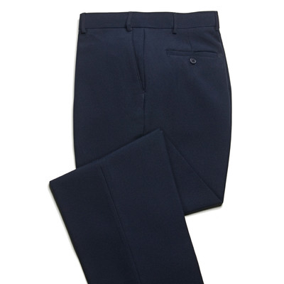 Haband Wrinkle Resistant Men's Dress Pant - Flat Front - Navy Blue
