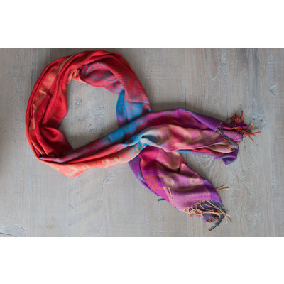 Bright Multi-Colour Scarf
