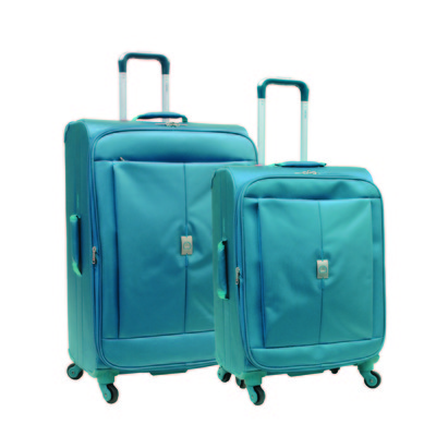 Delsey Helium Extreme Lite 2.0 Luggage 2-Piece Set - Blue Color