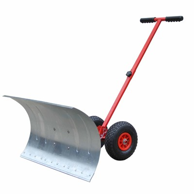 Steel Snow Plow Plough With Wheels