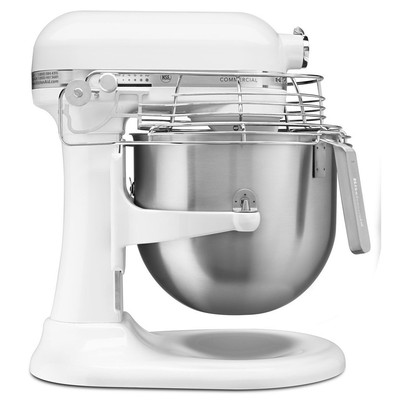 Stand Mixer - 8 qt - Commercial - White