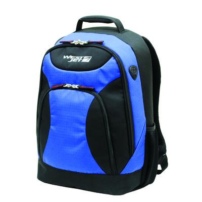 WestJet X-Terrain 17 Inches Laptop Backpack - Blue Color