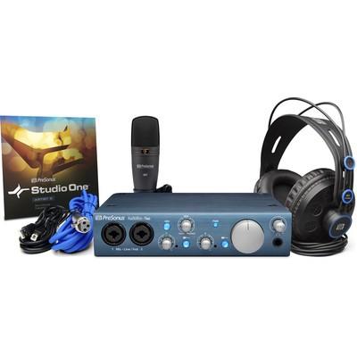 PreSonus AudioBox iTwo Studio - Complete Mobile Hardware/Software Recording Kit - PreSonus - AUDIOBOX-ITWO-STUDIO