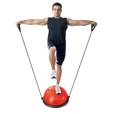 Tapout Balance Ball Trainer with Resistance Band