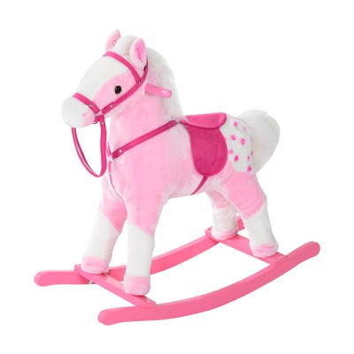Classic Rocking Horse - Pink
