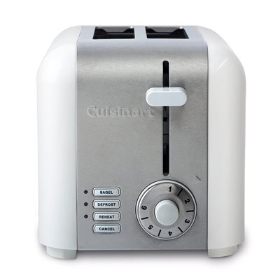 Cuisinart CPT-320WC 2-Slice Compact Stainless Toaster