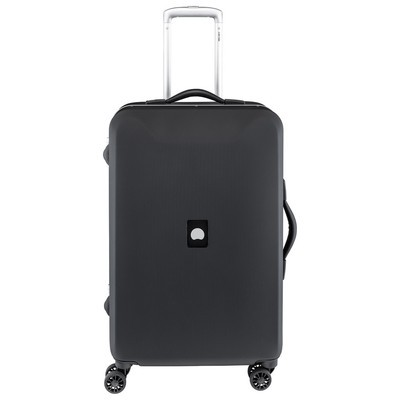 Delsey Honore Luggage 24 inches Spinner Trolley - Black Color