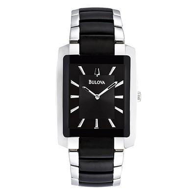 Mens Two-tone Bracelet Dress Watch