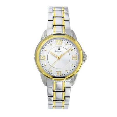 Ladies Two-tone Bracelet Dress Watch