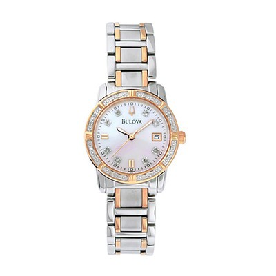 Ladies Two-tone Diamond Bracelet Watch