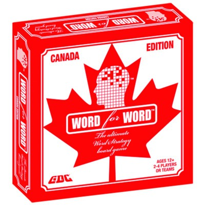 Word for Word Canada Board Game