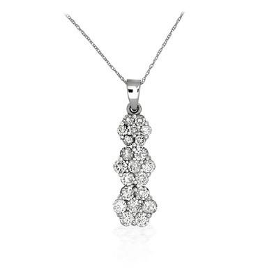 Lumax Design Diamond Floral Pendant.