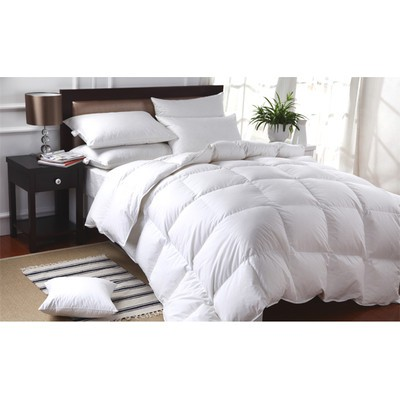 100% White Down Duvet Filled in Canada - Double Size