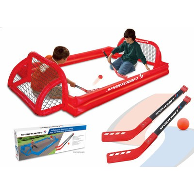 Sportcraft Inflatable Kids Knee Hockey Play Zone