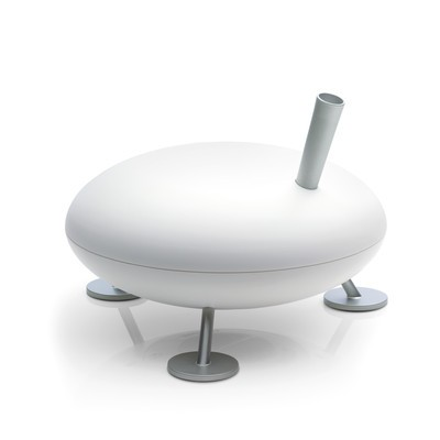 FRED Hot Steam Humidifier White