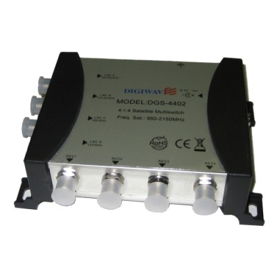 Digiwave 3 IN 4 OUT Satellite Switch (DGS3402)