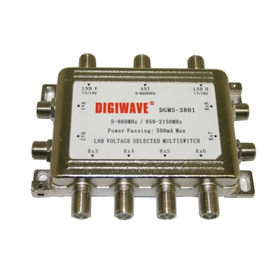 Digiwave 3 IN 8 OUT Multiswitch (DGS3801)