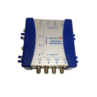 Digiwave 4 IN 4 OUT Satellite Switch (DGS4404A)