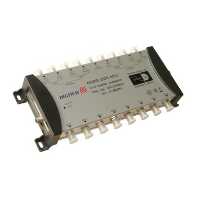 Digiwave 9 IN 8 OUT Multiswitch (DGS9802)