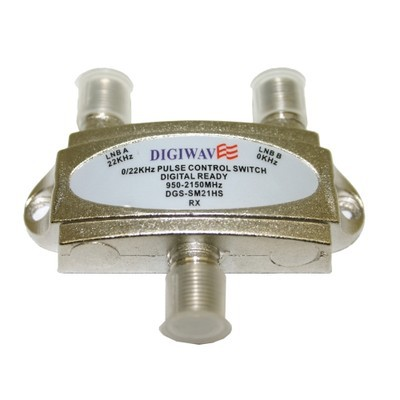 Digiwave 2 IN 1 OUT Tone Controlled Switch (DGSSM21HS)