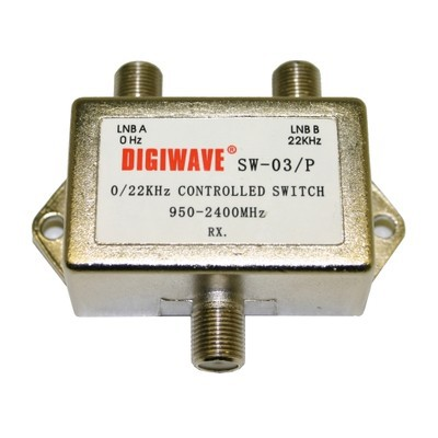 Digiwave 2 IN 1 OUT Tone Controlled Switch (DGSSW03P)