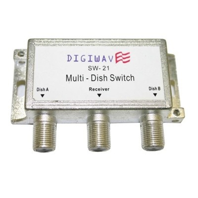 Digiwave SW21 Multiswitch for Dish Receiver (DGSSW21)