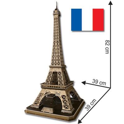 Eiffel Tower - 3D Puzzle - XLarge