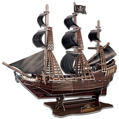 Queen Anne's Revenge 3D Puzzle X-Large