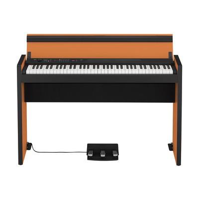 Korg LP-380 73-Key Electric Piano - Orange / Black - Korg - LP380-73-OB