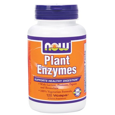 NOW Plant Enzymes 120 v-caps