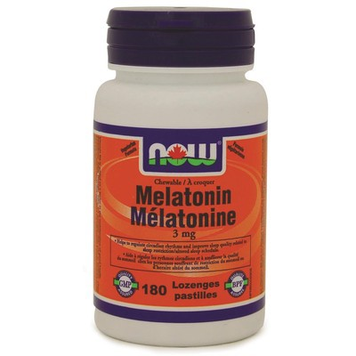 NOW Melatonin 3 mg Chewable