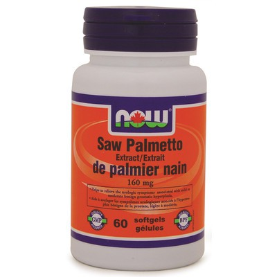 NOW Saw Palmetto Double Strength 160 mg