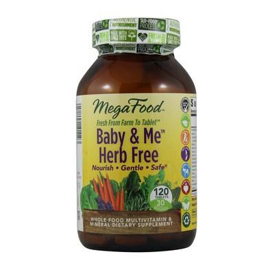 MegaFood Baby & Me Herb Free