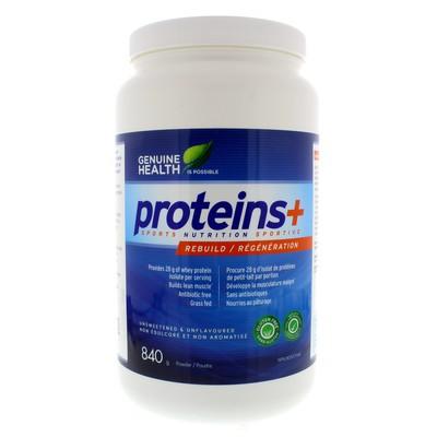 Genuine Health proteins+ - Unflavoured 840 g powder
