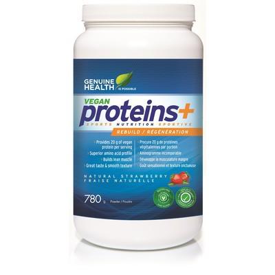 Genuine Health Vegan proteins+ Strawberry