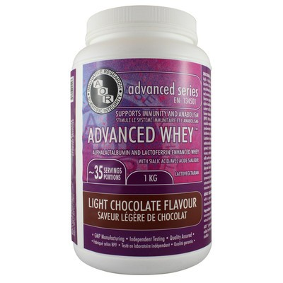 AOR Advanced Whey - Light Chocolate Flavour 1 kg
