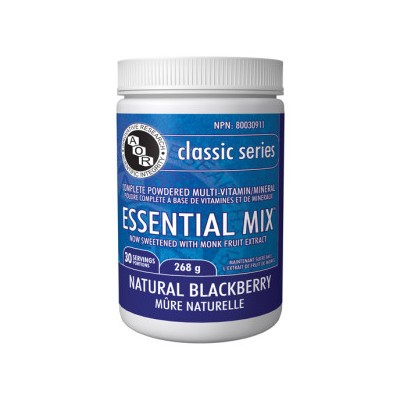 AOR Essential Mix - Natural Blackberry Flavour 365 g powder