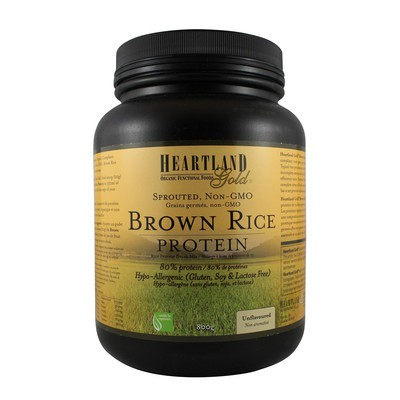 Heartland Gold Brown Rice Protein - Unflavoured 800g