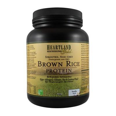 Heartland Gold Brown Rice Protein - Vanilla 800g