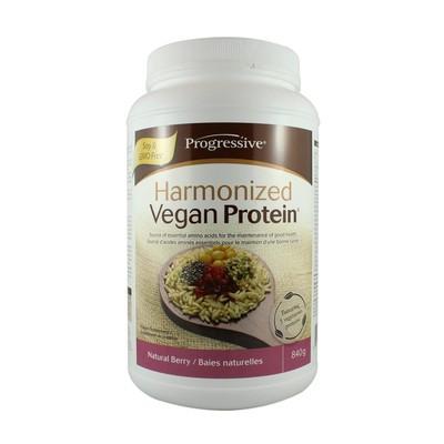 Progressive Harmonized Vegan Protein - Natural Berry 840 g