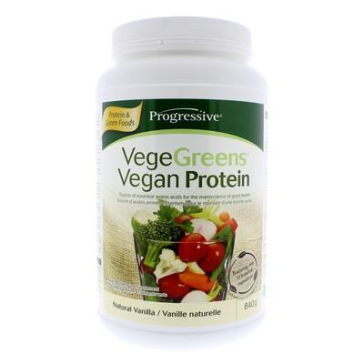 Progressive VegeGreens Vegan Protein - Natural Vanilla 840 g