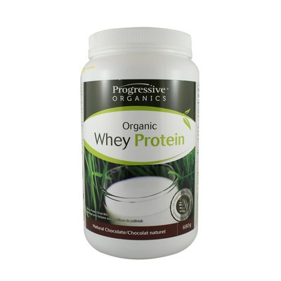Progressive 100% Organic Whey Protein - Natural Chocolate 680 g