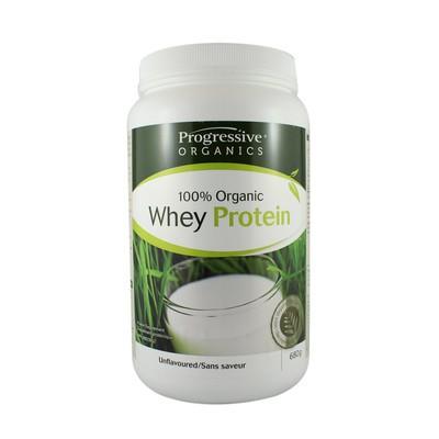 Progressive 100% Organic Whey Protein - Unflavoured 640 g