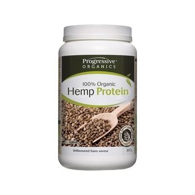 Progressive 100% Organic Hemp Protein - Unflavoured 800 g
