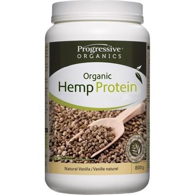 Progressive 100% Organic Hemp Protein - Natural Vanilla 800 g