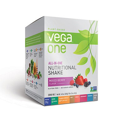 Vega All in One Nutritional Shake - Mixed Berry 10 x 42 g