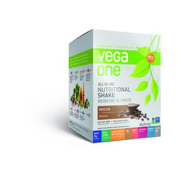Vega All in One Nutritional Shake - NEW Mocha 10 x 42 g