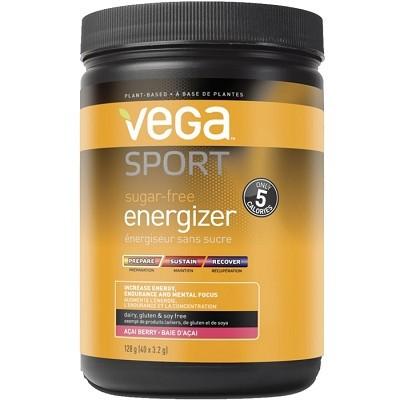 Vega Sport Sugar-Free Energizer - Acai Berry 128g Powder