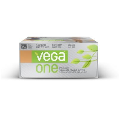 Vega One Bar - Chocolate Peanut Butter 12 Bars